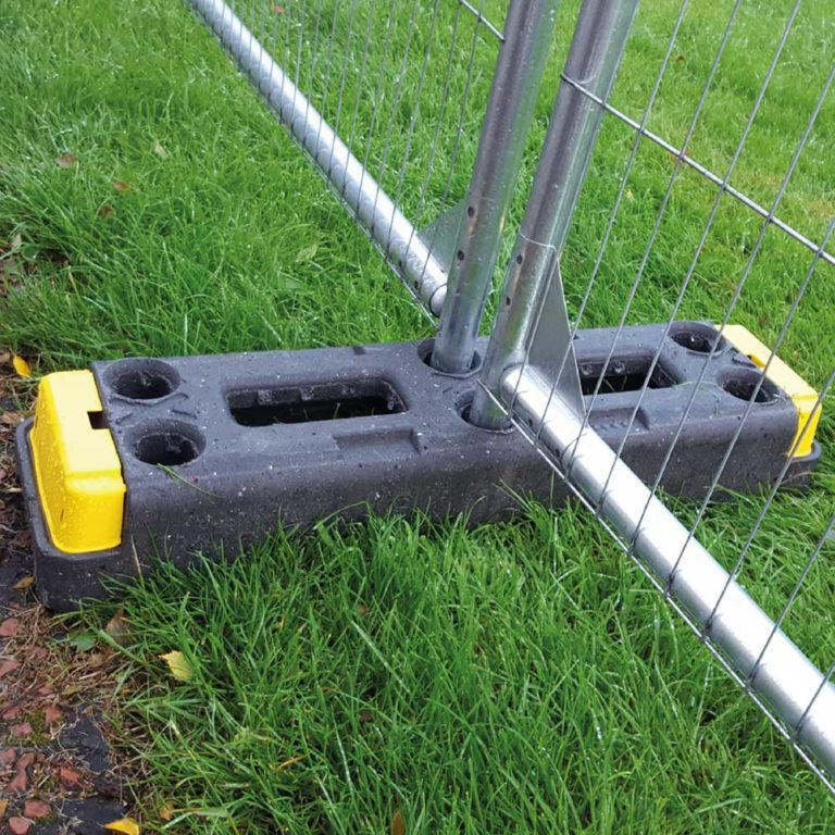 Rubber Fencing Block